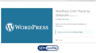 Tema Child WordPress: la guida completa